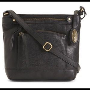 New With Tags Genuine Leather Crossbody